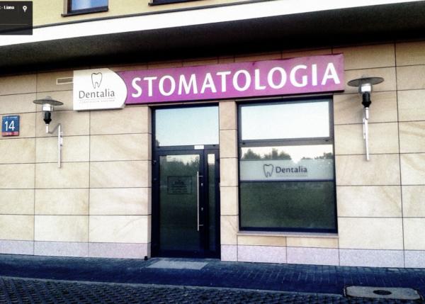 Dentalia ul. Lanciego 14, Warszawa